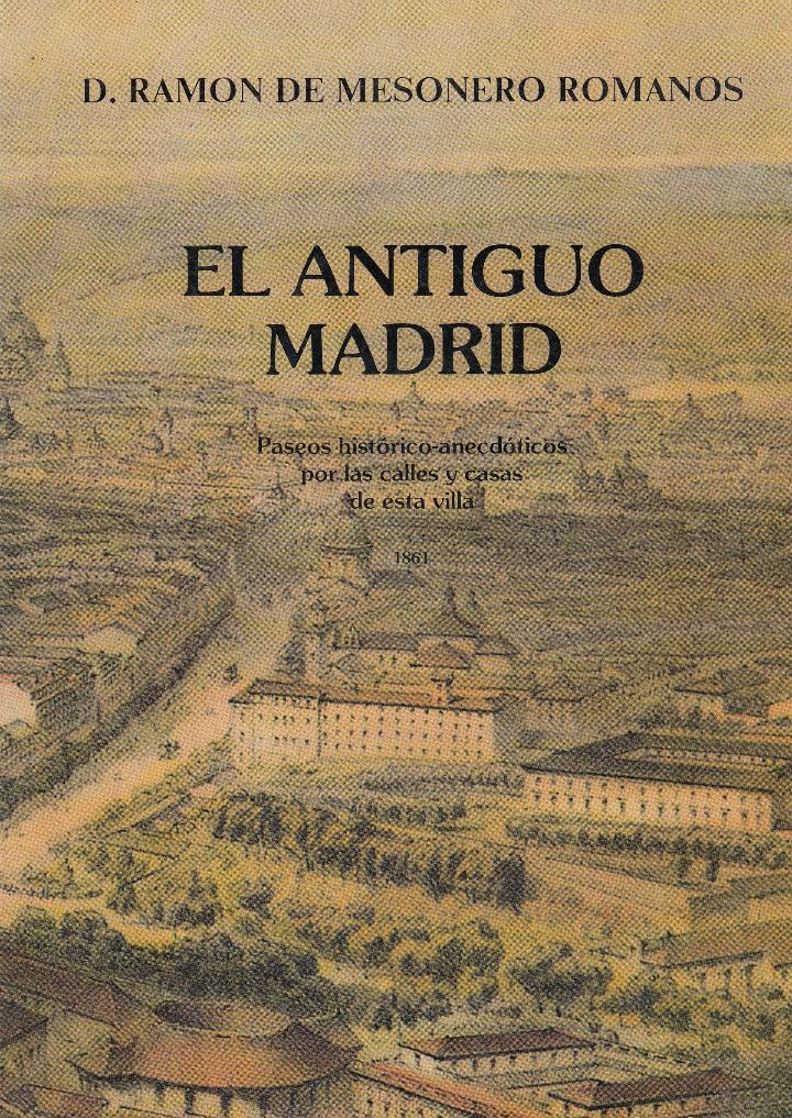 El antiguo Madrid, 1861